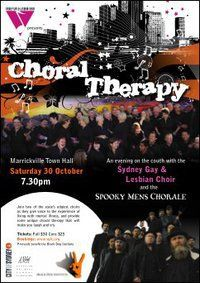 Choral Therapy Publicity